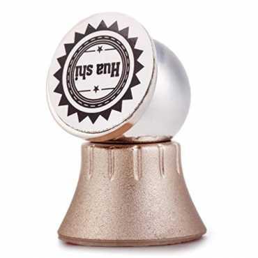 ePresent Magnetic Metallic Multifunctional Rotary Car Phone Holder - Gold | Grey