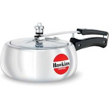Hawkins Contura HC 35 Aluminium 3.5 L Pressure Cooker (Inner Lid)