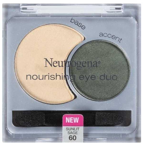 Neutrogena Nourishing Eye Shadow Duo (Sunlit Sage 60)