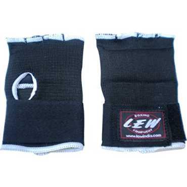 LEW Pro Padded Training Hand Wraps - Black