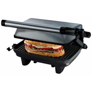 Oster CKSTPA2880 Compact Grill Sandwich Maker - Silver