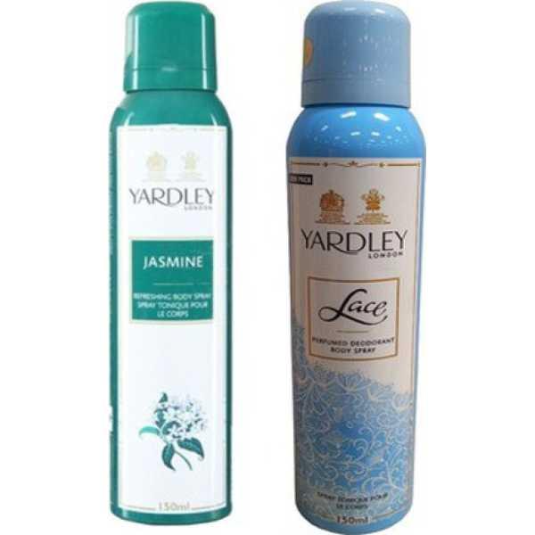 Yardley  Jasmine and Lace Combo (Set of 2)