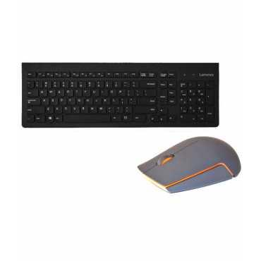 Lenovo 500 Wireless Keyboard & Mouse Combo - Black