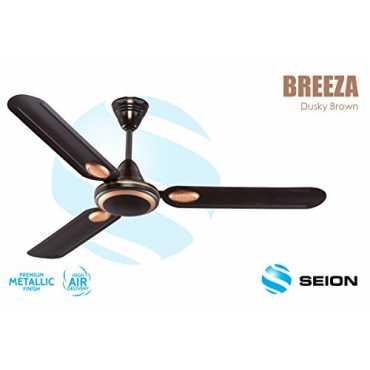 Seion Breeza 3 Blade (1200mm) Ceiling Fan - D Brown