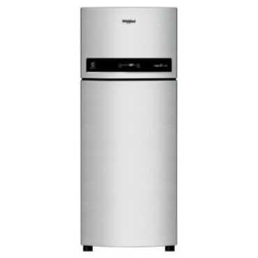Whirlpool IF 515 3S 500L  Double Door Refrigerator (Alpha Steel) - Black | Steel
