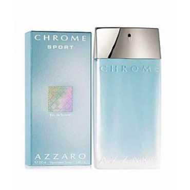 Azzaro Chrome Sport EDT -100 ml - Silver