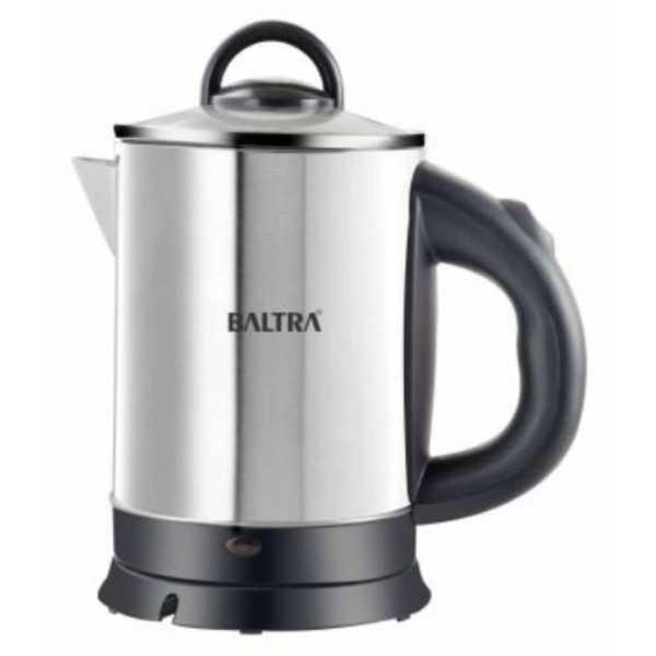 Baltra Amaze 1.8 L 1100W Electric Kettle - Silver | Steel