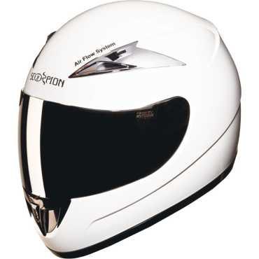 Studds Scorpion with Mirror Visor Motorsports Full Face Helmet (Large) - Black