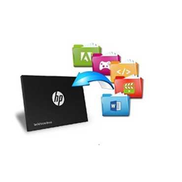 HP S700 500GB Internal SSD - Black