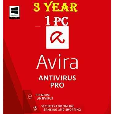 Avira Antivirus Pro 2017 1 PC 1 Year Antivirus (Key)