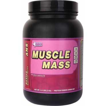 Kudos Muscle Mass Weight Gainer 2kg Rich Milk Chocolate