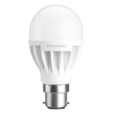 Panasonic 7W B22 Round LED Bulb White Pack Of 2