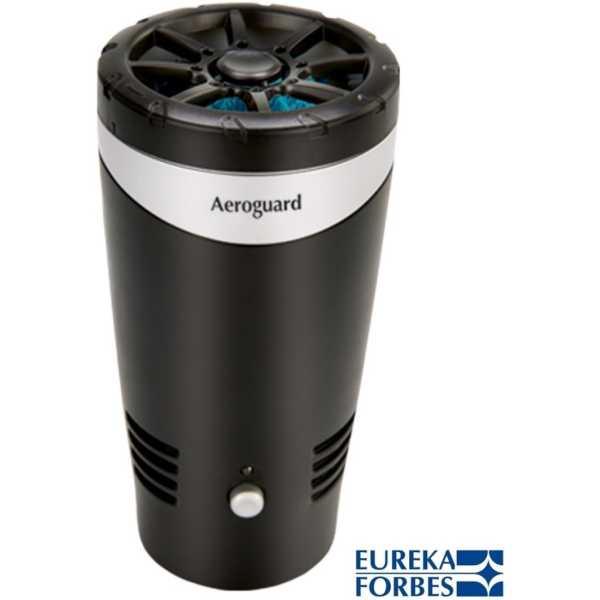 Eureka Forbes Aeroguard Fresh Car Air Purifier - Black | Silver