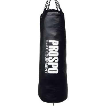 Prospo Srf Punching Bag Unfilled - Black