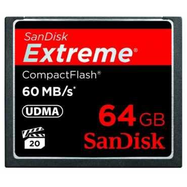 SanDisk Extreme 64GB CF 60MB/s Memory Card