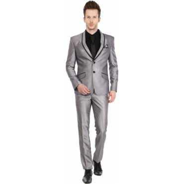 Platinum Studio Tuxedo Style Solid Men s Suit