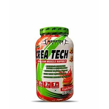 Monster Series Crea Tech Protein 750gm Fruit Punch