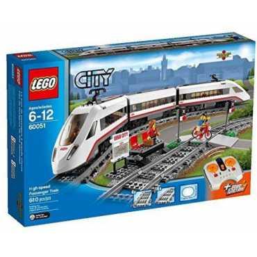 City Trains Highspeed Passenger Train 60051 Building