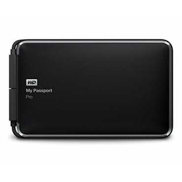 WD My Passport Pro 2TB portable RAID External Hard Disk