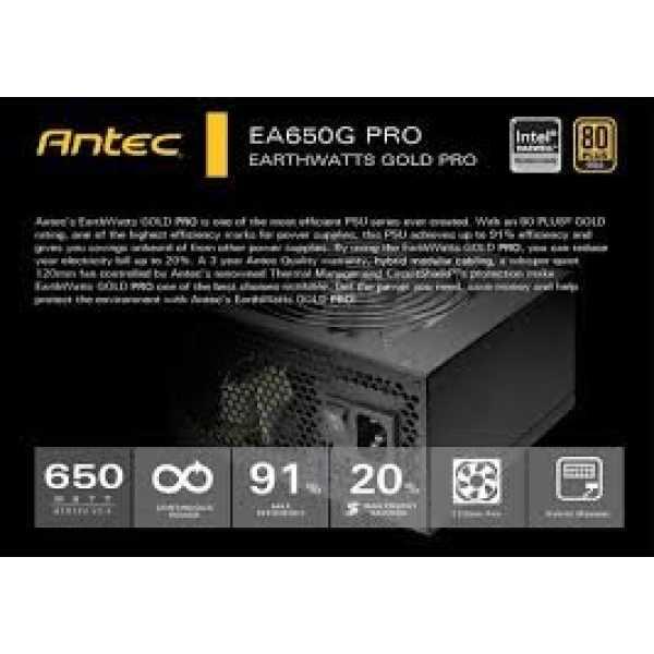 Antec EA650G PRO 650W SMPS
