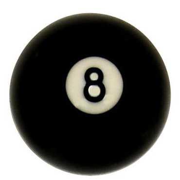 Iszy Billiards No 8 Billiard Replacement Ball
