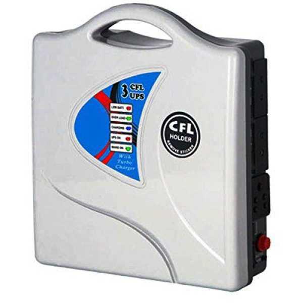Subitron Model-05 50W CFL Portable Inverter (With Exide Smf Battery)