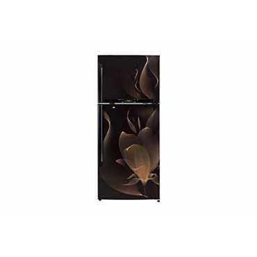 LG GL-T542GTMX 495L 4 Star Double Door Refrigerator (Twilight Magic) - Brown   Black