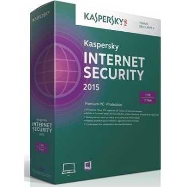 Kaspersky Internet Security 2015 1 PC 1 Year