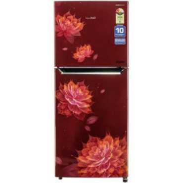 Lloyd GLFF282ASRT1PB 276 L 2 Star Inverter Frost Free Double Door Refrigerator