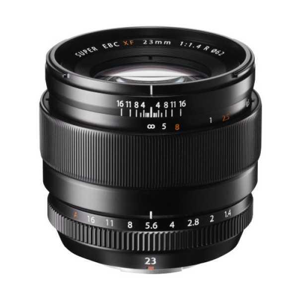 Fujifilm EBC XF 23mm F1.4 R Lens - Black