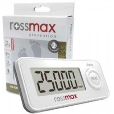 Rossmax PAS20 Pedometer Step Counter - White