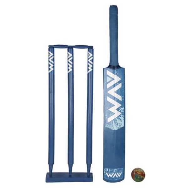 Avm Blue Cricket Kit (Size 5) - Blue