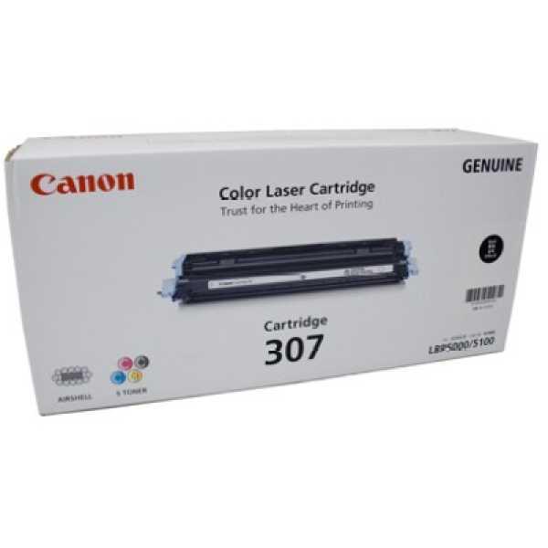 Canon 307 Black Toner Cartridge - Black