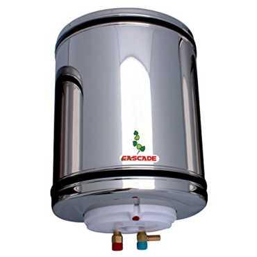Cascade Silver Shower 20 Litres Storage Water Geyser - Silver   Steel