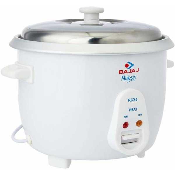 Bajaj Majesty New RCX 5 1.8L Electric Rice Cooker