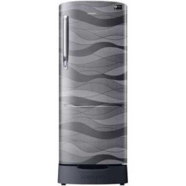 Samsung RR22R385XNV 215 L 4 Star Inverter Direct Cool Single Door Refrigerator