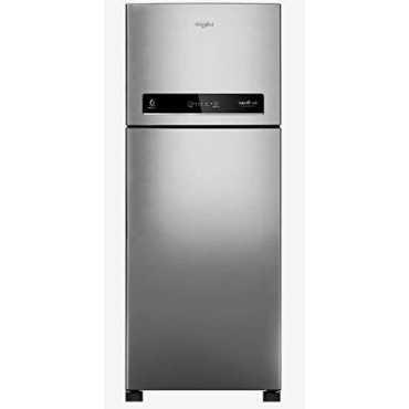 Whirlpool IF CNV 278 ELT 265 L 3 Star Frost Free Double Door Refrigerator Illusia Steel