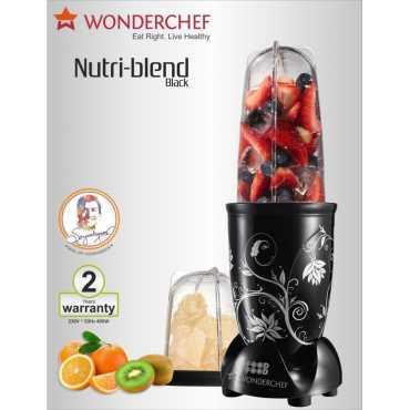 Wonderchef NutriI Blend 220W Blender - Black