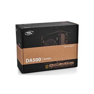 Deepcool DA500 80 plus 500W PSU - Black