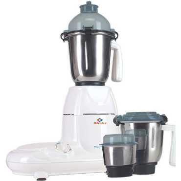 Bajaj Twister 3 Jars 750 Watts Mixer Grinder - Green | White