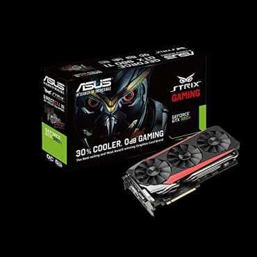 Asus Geforce GTX980Ti Strix OC Gaming Edition (6GB GDDR5) Graphic Card - Black