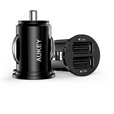 Aukey CC-S1 4 8A 24W Dual USB Car Charger