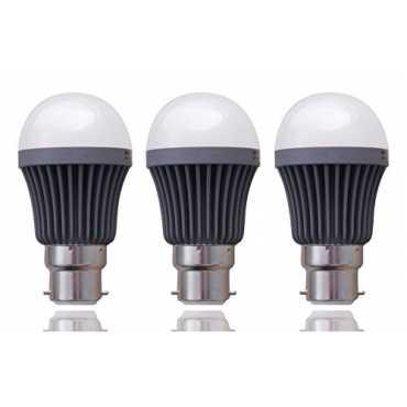 Syska SSK 5W B22 LED Bulb Cool White Pack of 3