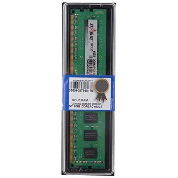 STARLITE DT PC1600-GOLD 8GB DDR3 Desktop Ram
