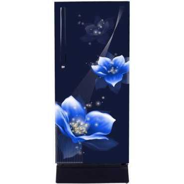 Haier HRD-1954PMM-E 195 L 4 Star Direct Cool Single Door Refrigerator (Marine) - Blue