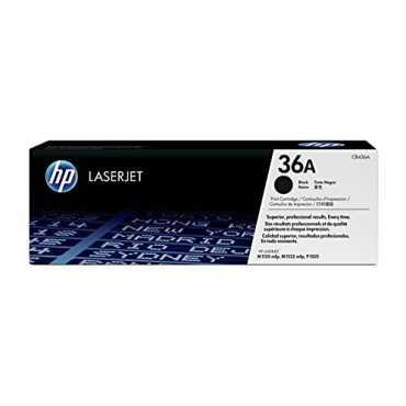 HP 36A Black LaserJet Toner Cartridge
