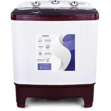 Sansui 6 5 Kg Semi Automatic Top Load Washing Machine SISA65GMAW