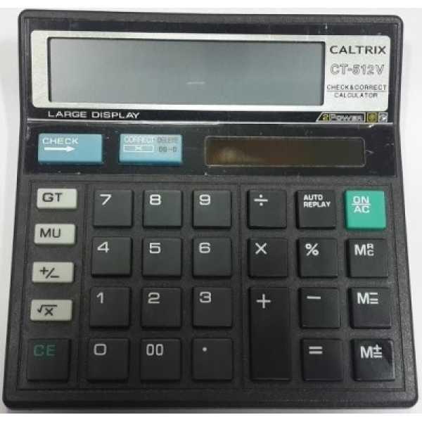 Caltrix Ct-512V Basic Calculator