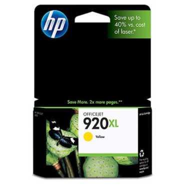 HP 920XL Yellow Ink Cartridge - Yellow
