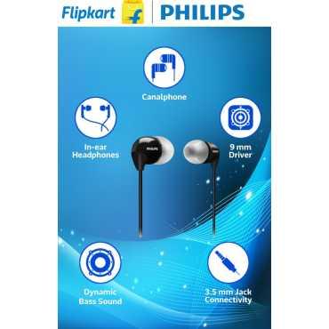 Philips SHE3590 In-Ear Headphones - Purple   Black   Blue   White   Pink